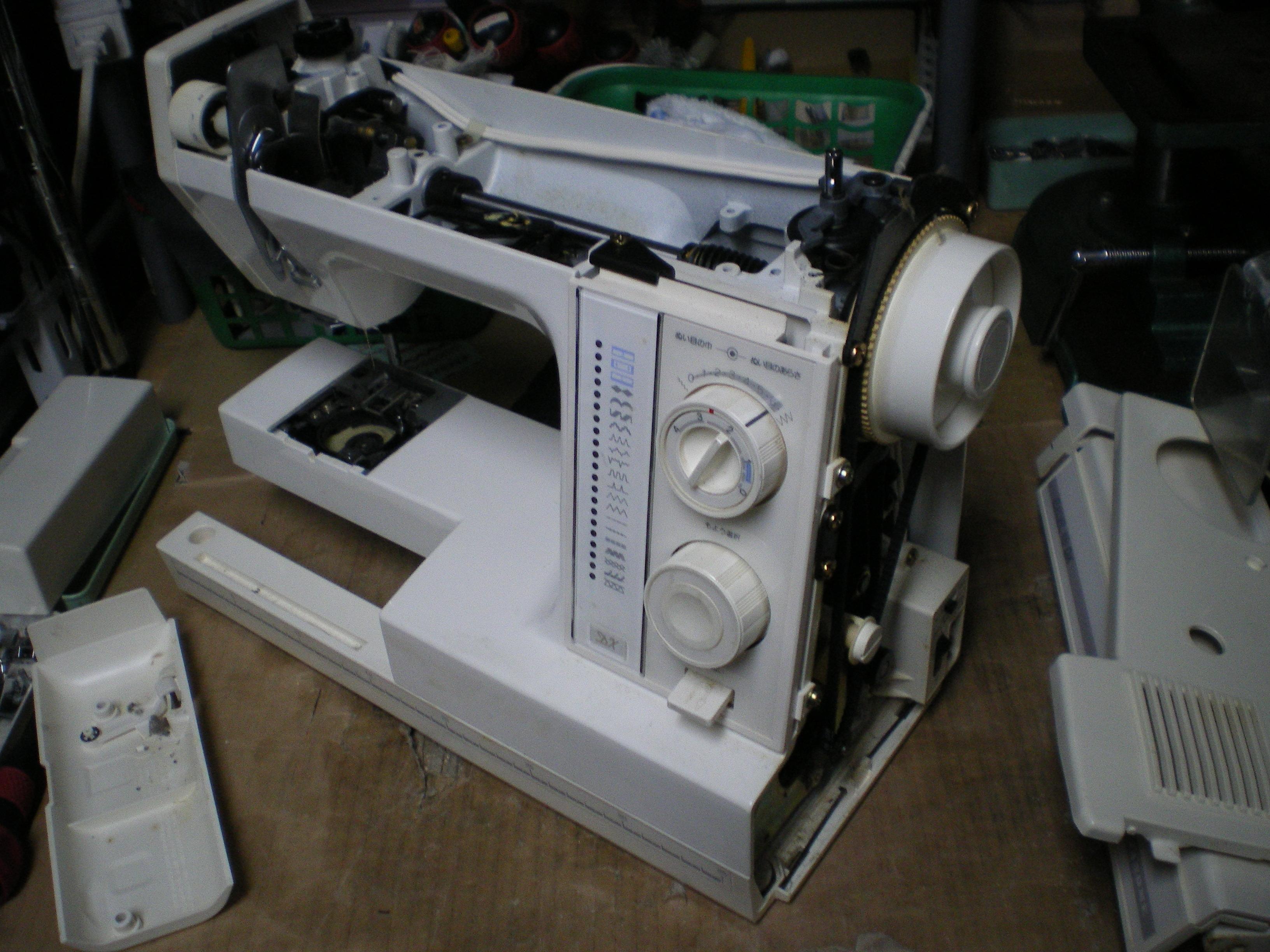 ジャノメミシン 札幌 北海道:ミシン修理